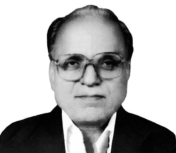 Late Mohan Lalji Jain, the founder of SM Group