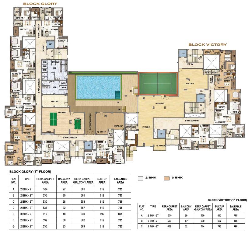 Surya Aspire 1st Floor