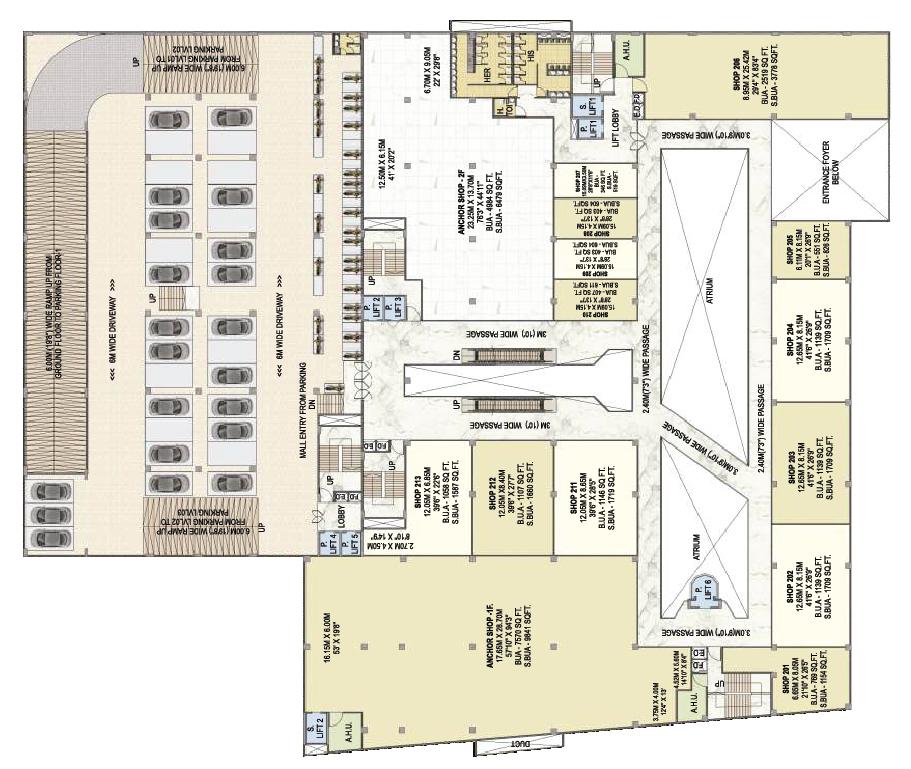 Surya Mall 1st Floor