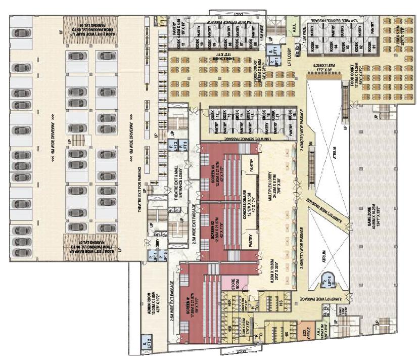 Surya Mall 3rd Floor - A
