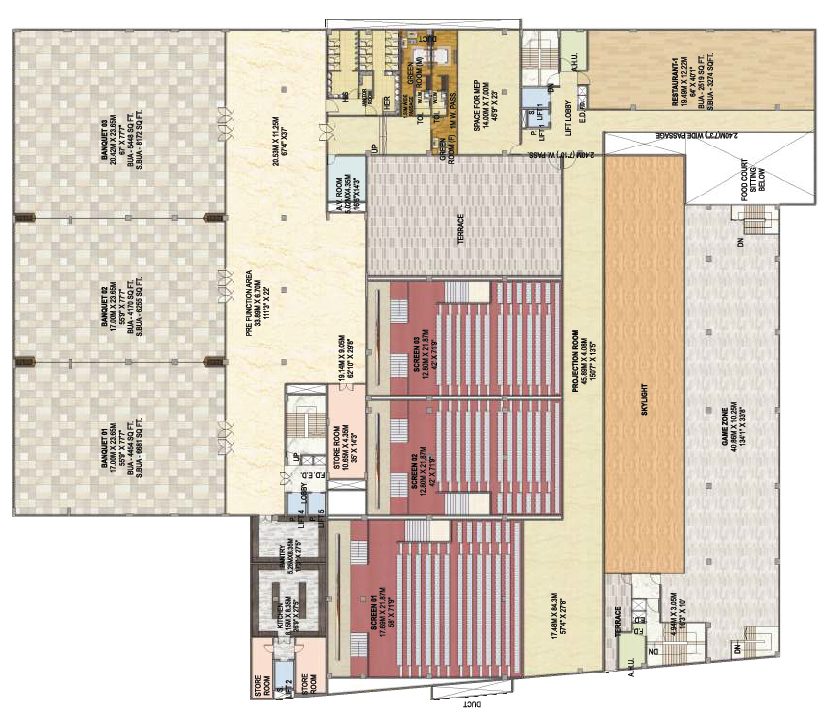 Surya Mall 3rd Floor - B