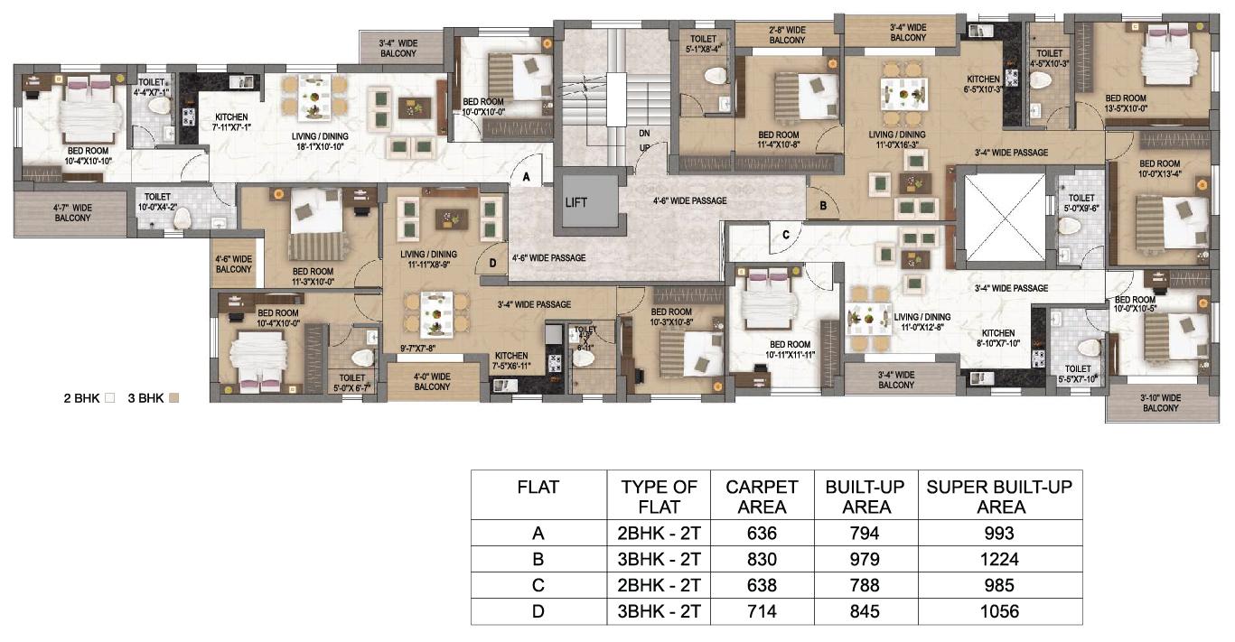 Surya Riviera Floor plan