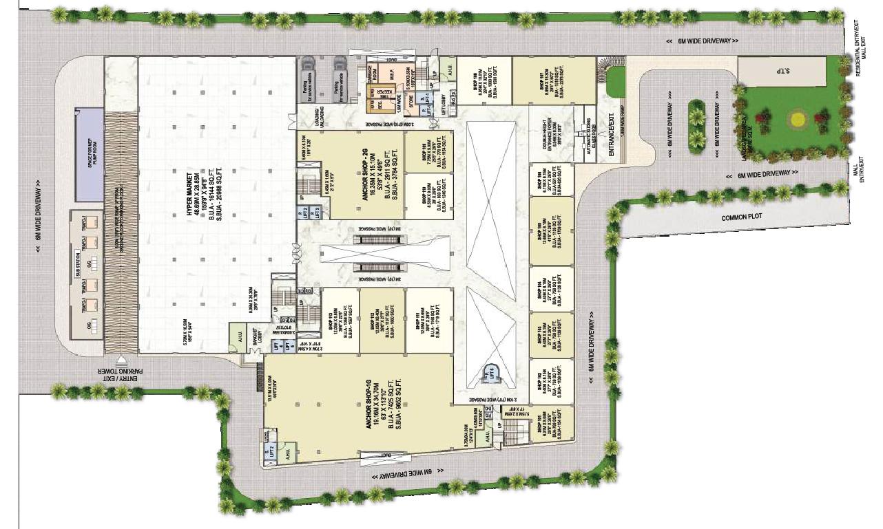 Surya Mall Ground Floor
